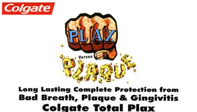 colgate total plax in goa , long lasting complete protection from bad breath, plaque & gingivitis